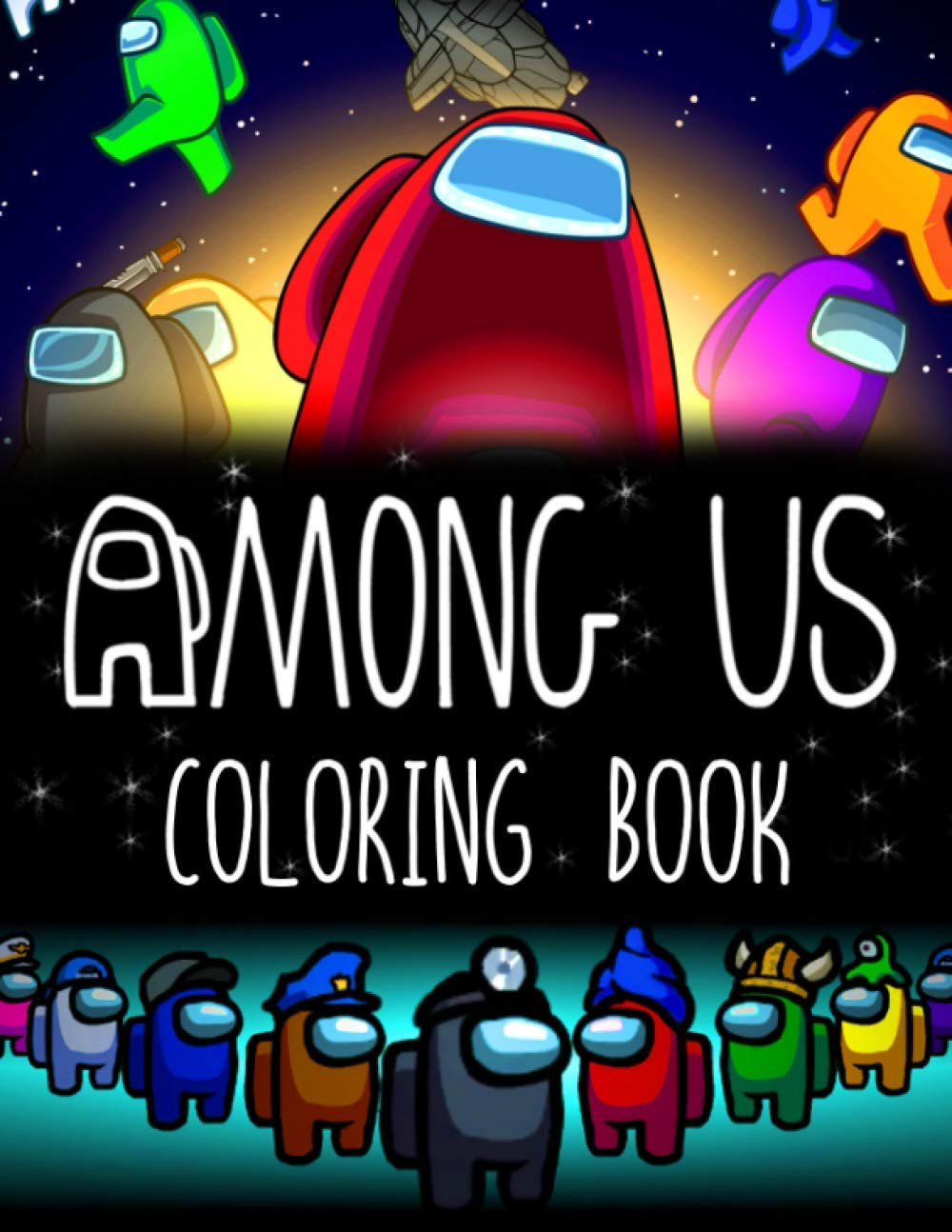 Among Us Coloring Book