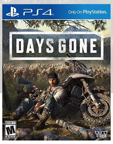 The game case for Days Gone.