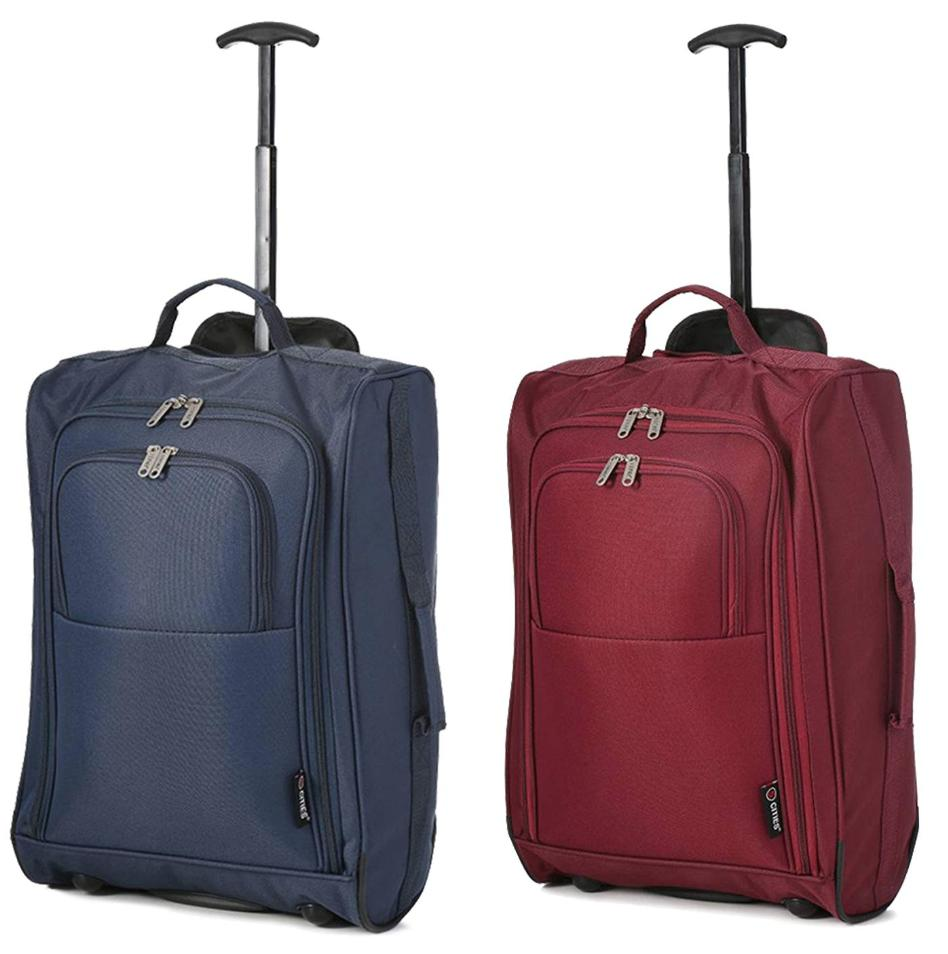 five cities hand luggage