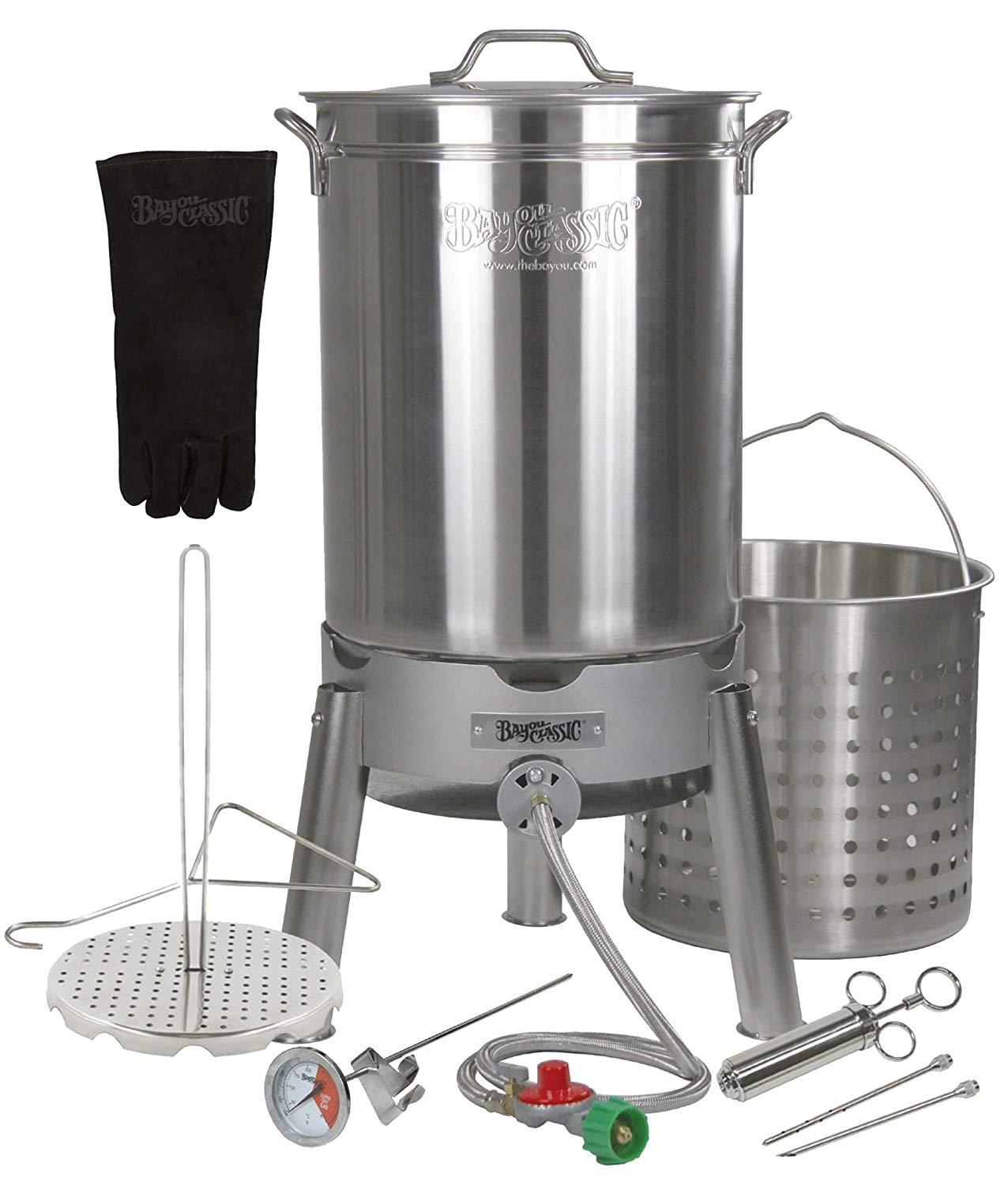 Bayou Classic Turkey Fryer Kit