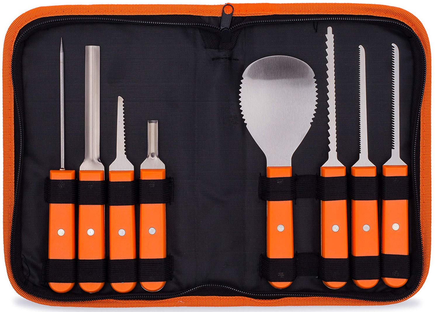 BOOtiful Carving Tools eight-piece caring kit