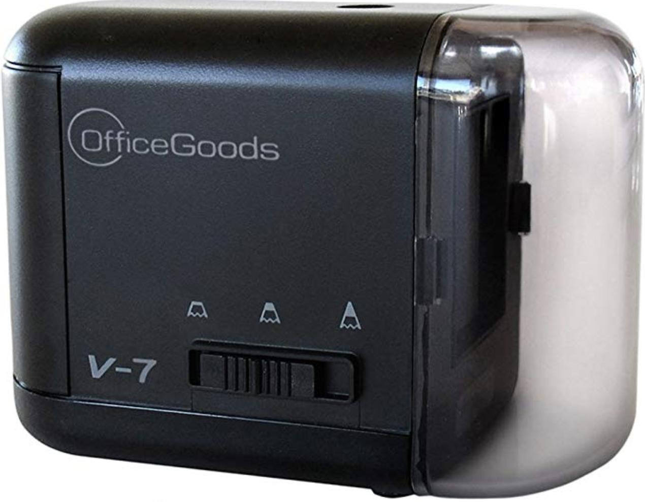 OfficeGoods V-7 Electric and Battery Operated Pencil Sharpener render image