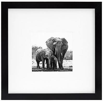 Americanflat 8x8 Black Picture Frame