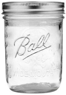 Ball Wide Mouth 16oz, Set of 6