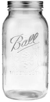 Ball Wide Mouth 64oz, Set of 12