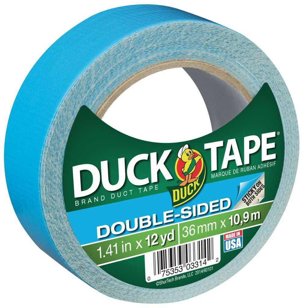 Double Sided Tape Strong Hold 1 X 30 Yards Fabric Multi-Purpose Tape for Clothes Rugs Secure Your Carpets
