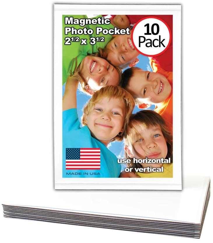 Magtech Magnetic Photo Pocket Picture Frame