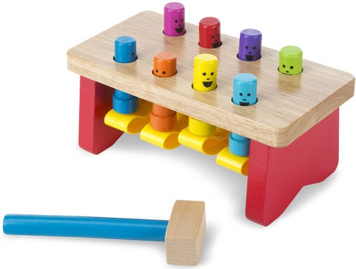 Melissa and Doug Pounding Bench