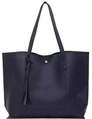 Nodykka Faux Leather Tote Bag