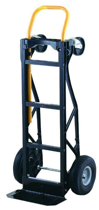 Harper Trucks Hand Truck and Dolly with Pneumatic Wheels