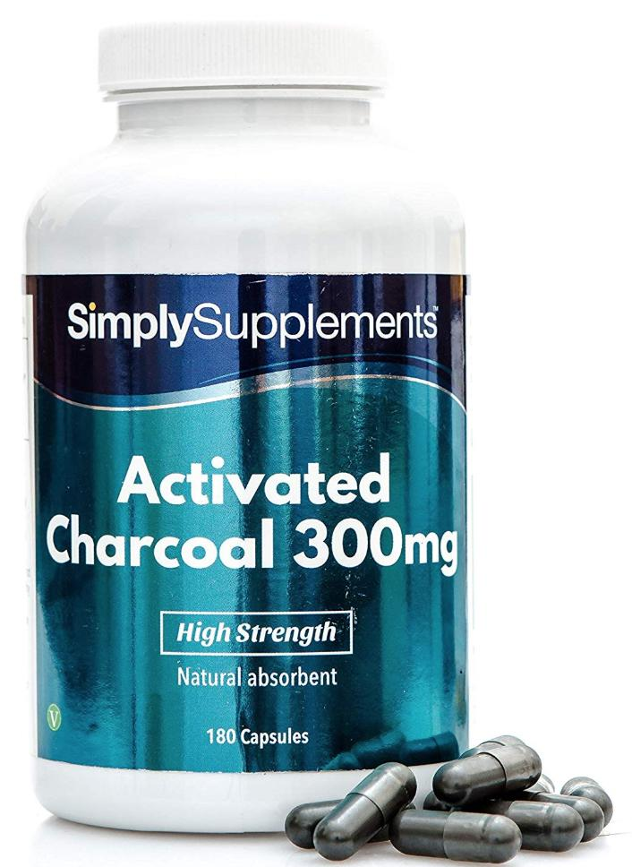 Activated Charcoal Capsules for gas