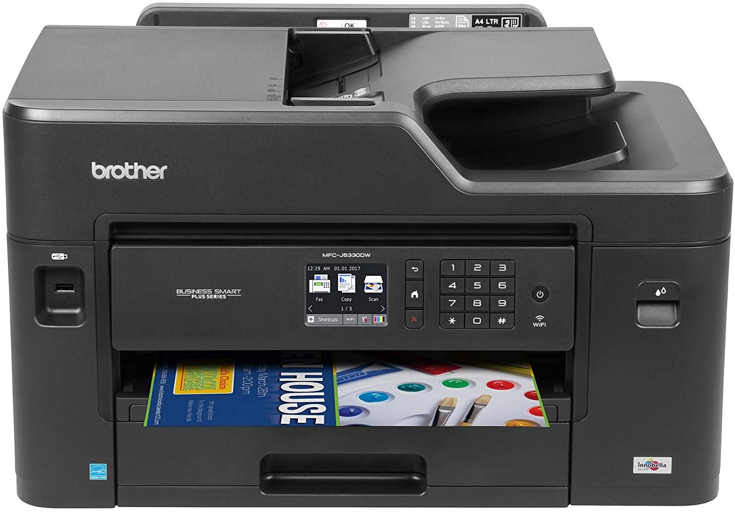 Brother MFC-J5330DW A4 with A3 Inkjet Printer