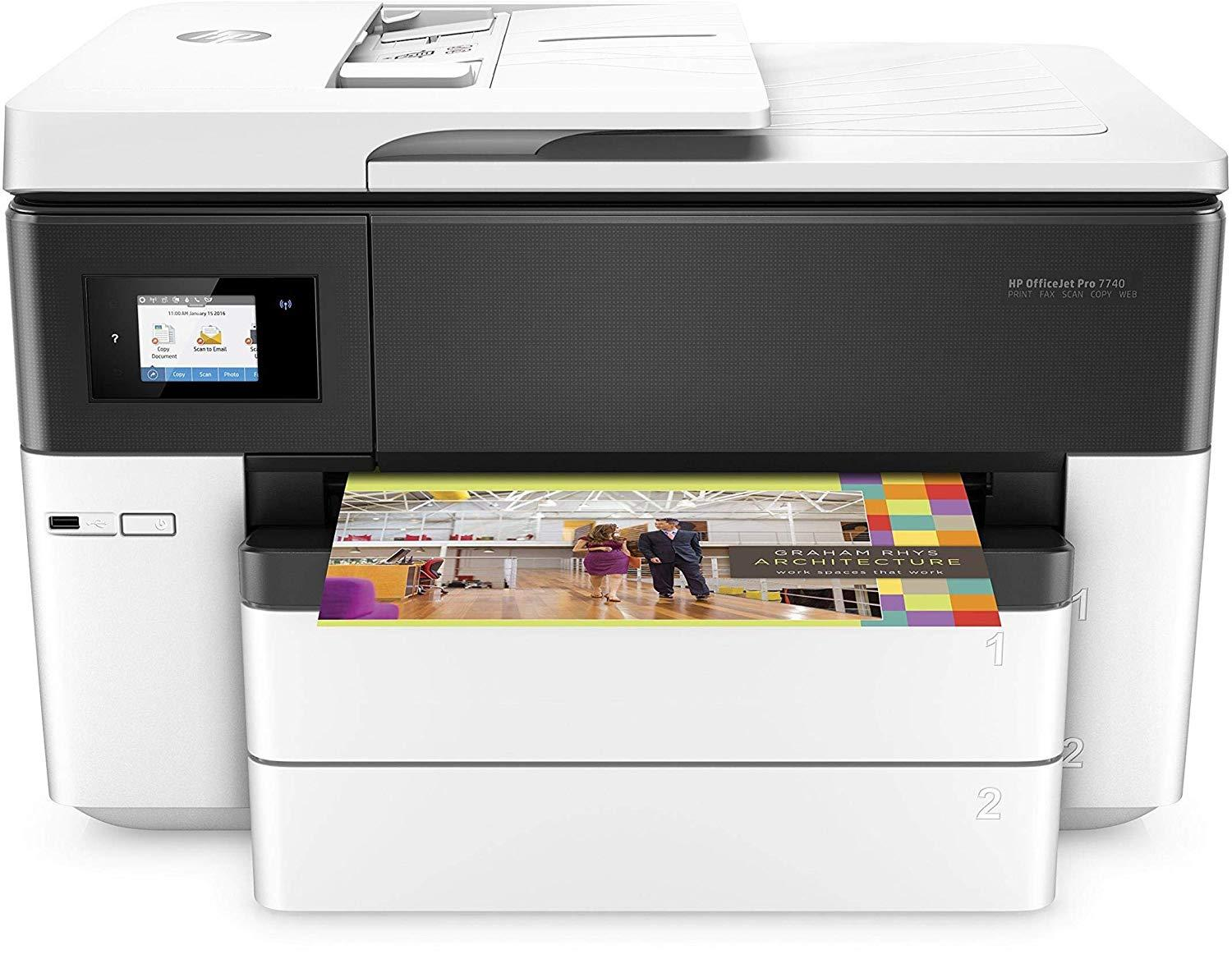 HP OfficeJet Pro 7740 Colour Inkjet Printer