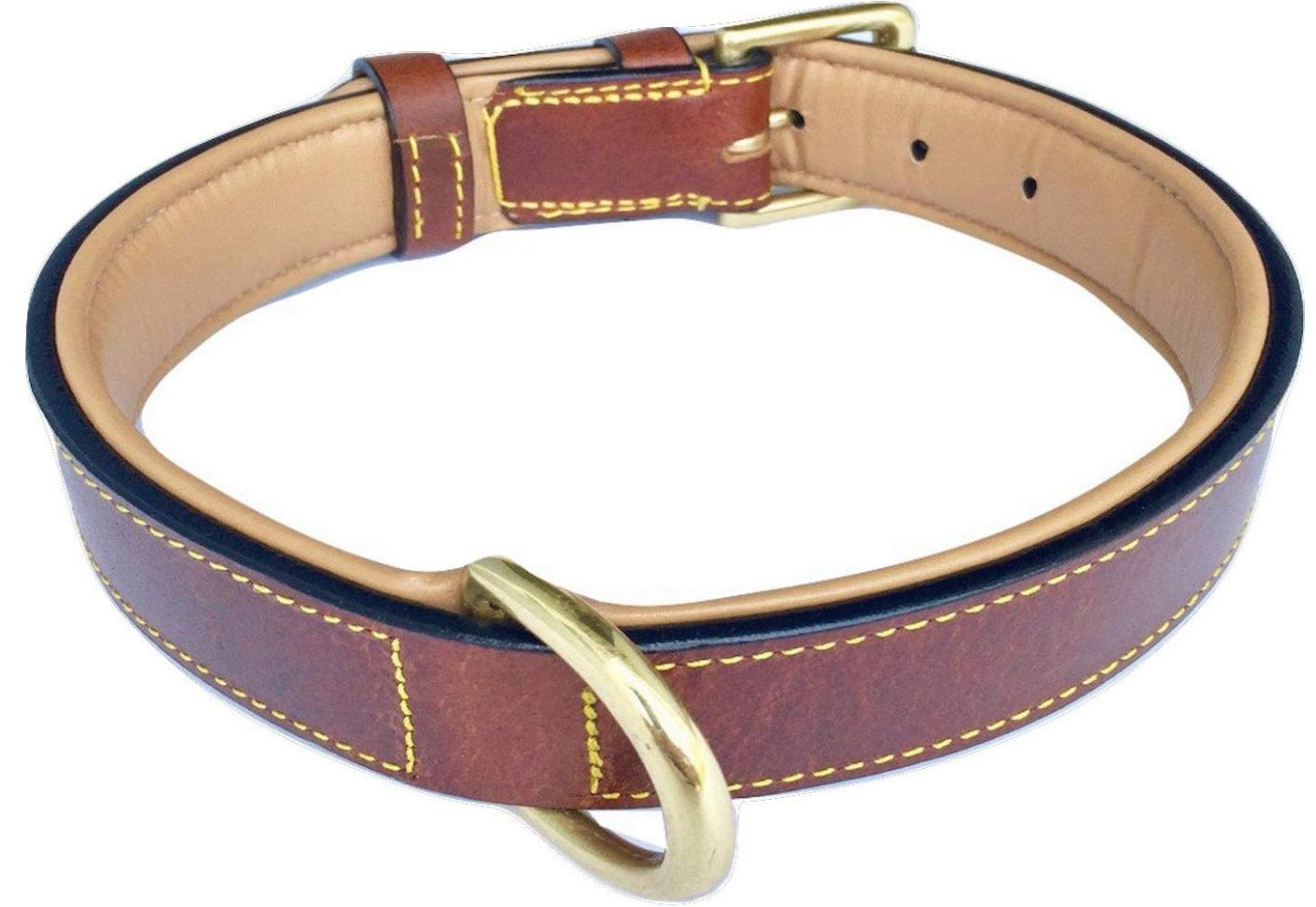 Soft Touch Collars leather collar