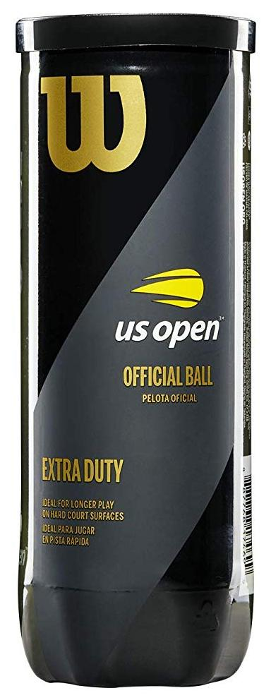 Wilson US Open Extra Duty 3 Ball Can