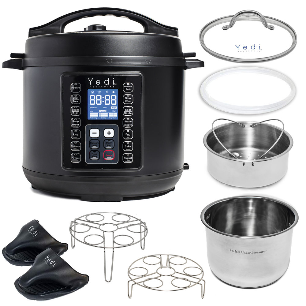 Yedi Total Package Pressure Cooker, 6 QT