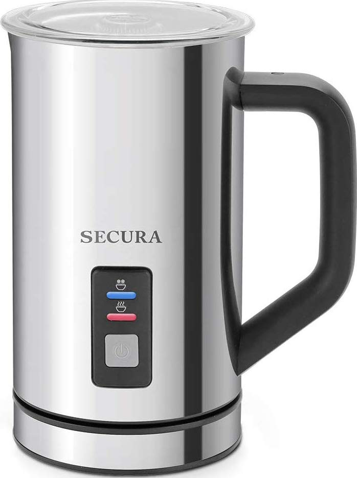 Secura Milk Frother Render Cropped
