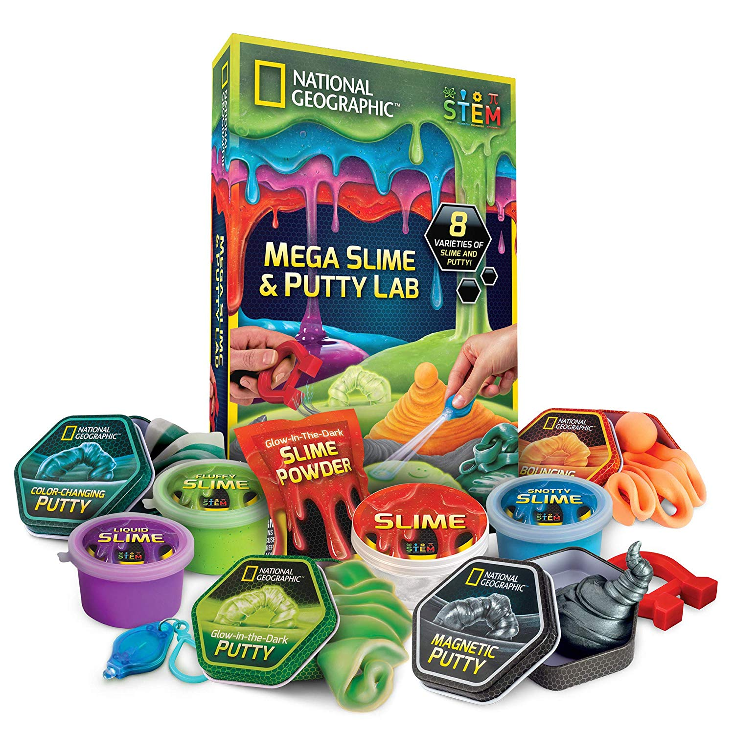 National Geographic Slime Kit