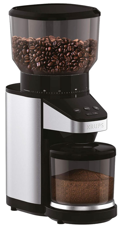Krups GX420851 Coffee Grinder with Scale