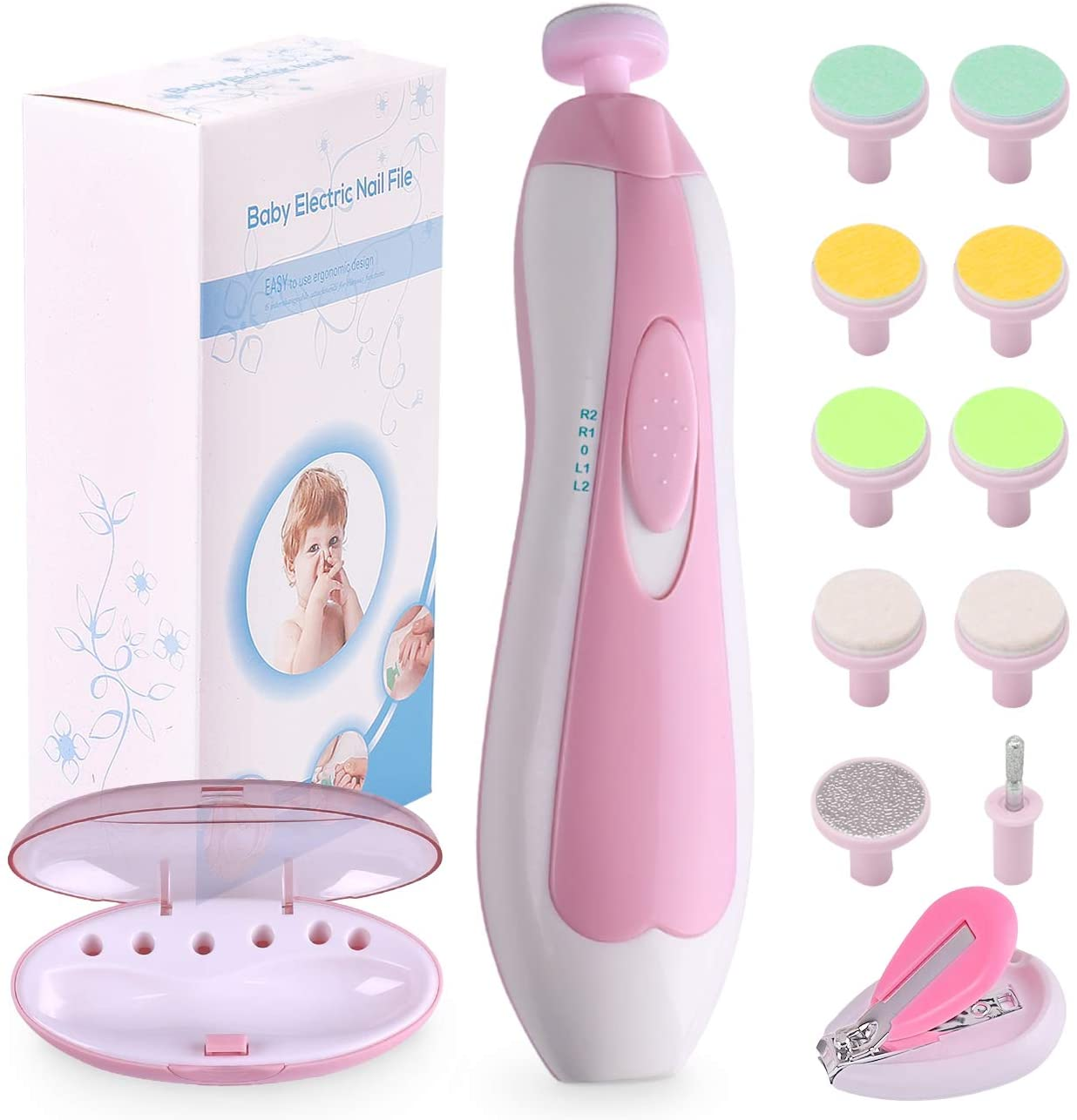 Consevisen Baby Nail File Electric