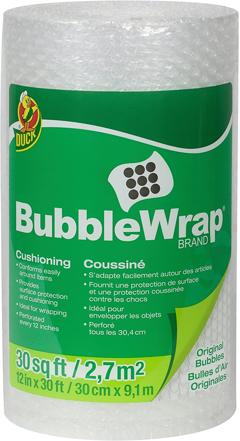 Duck Brand Bubble Wrap Original Protective Packaging Render