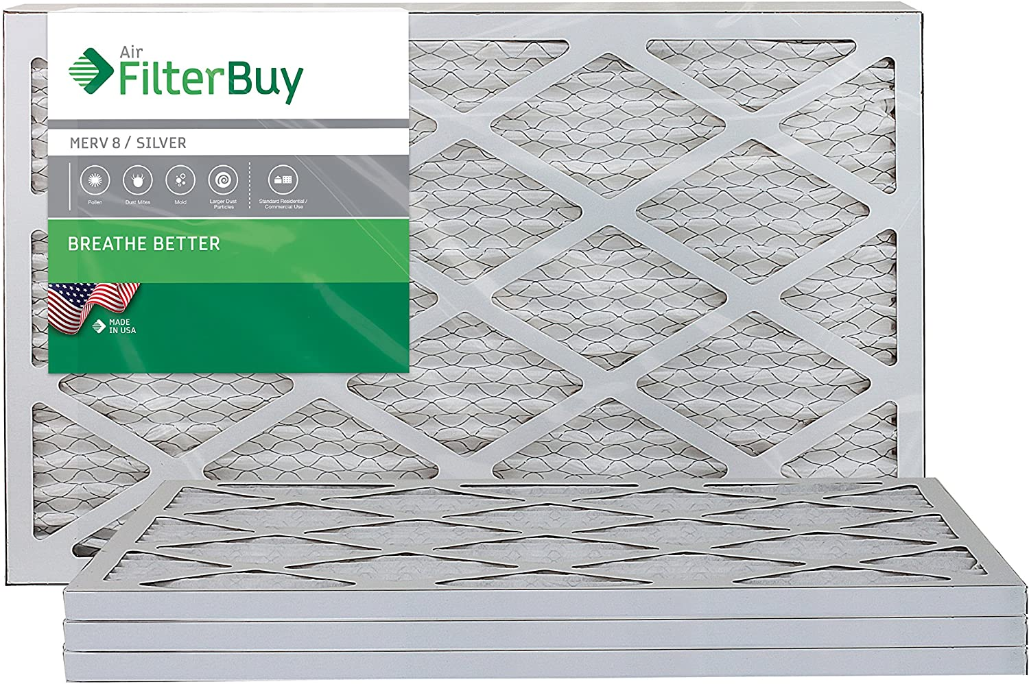 FilterBuy Pleated Air Filter