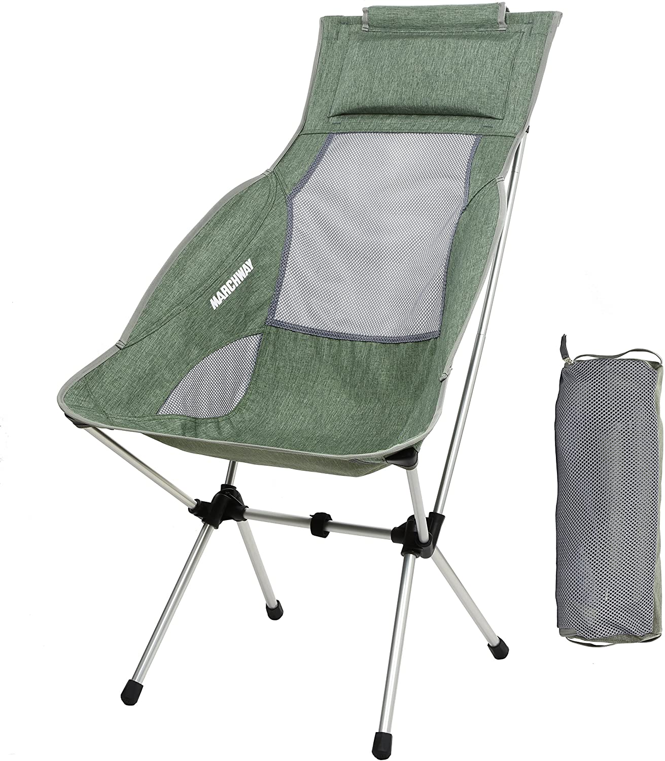 Marchway Backpacking Chair With Headrest