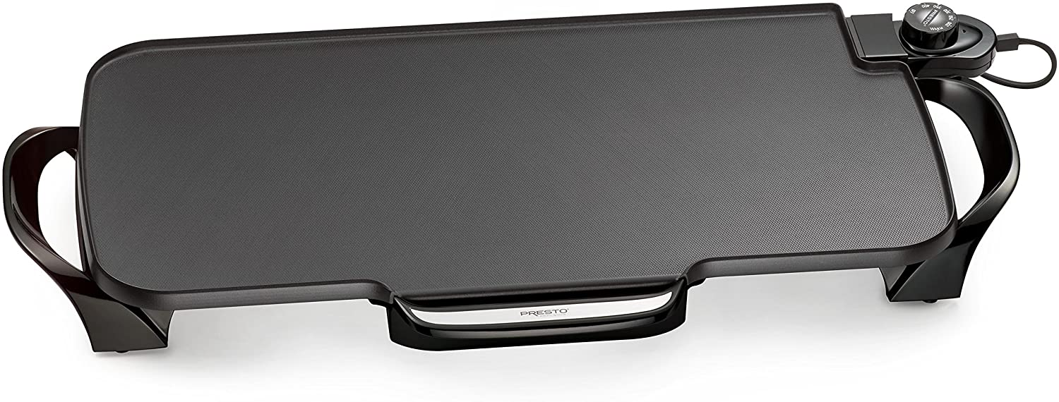 Presto 22 Inch Electric Griddle With Removable Handles Render