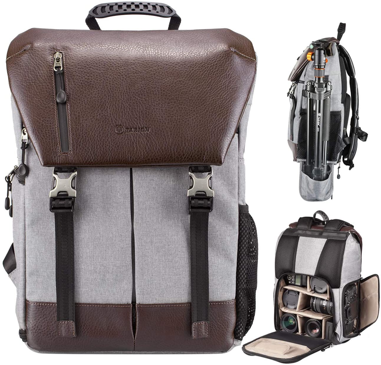Tarion Leather Camera Bag