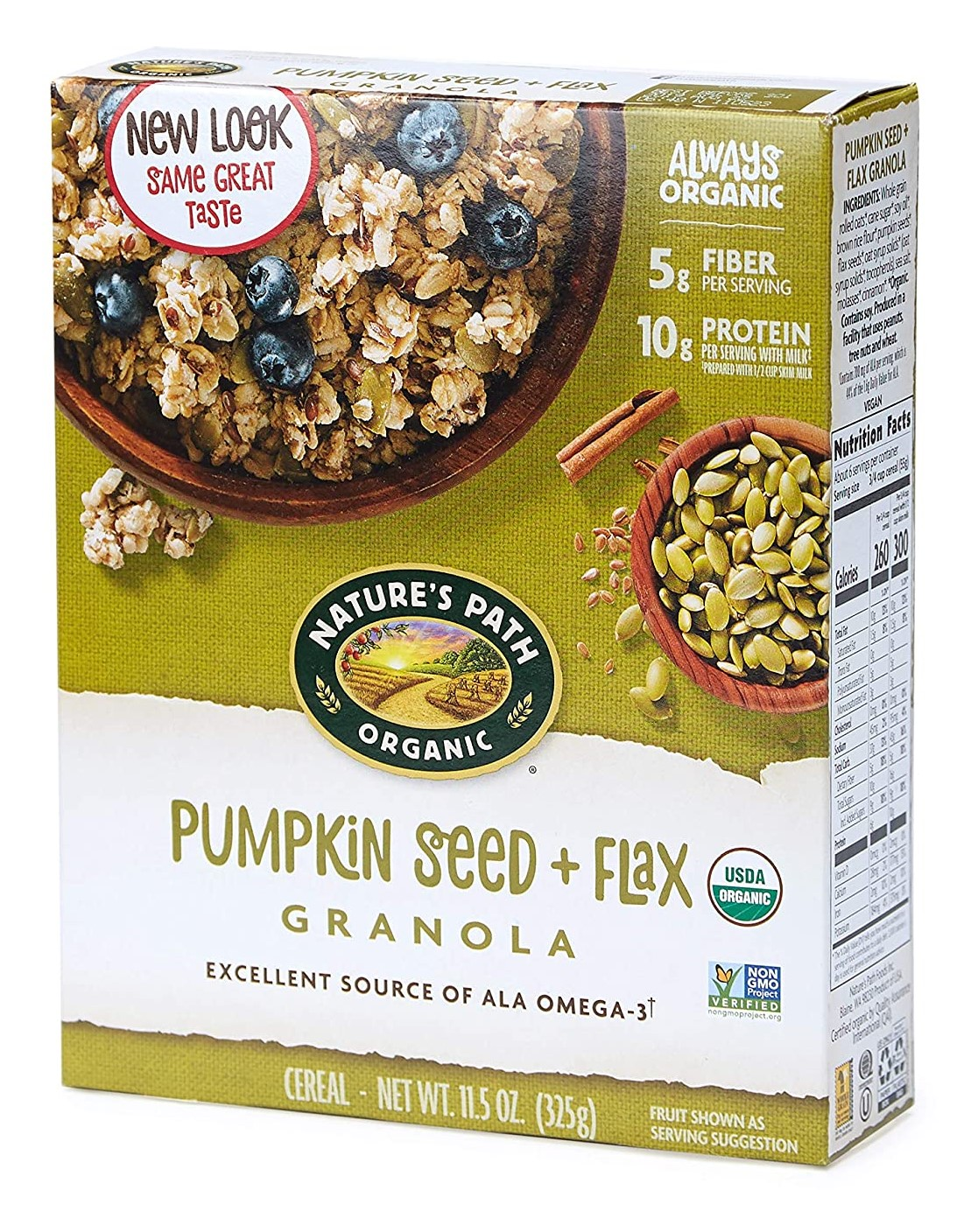 Natures Path Pumpkin Seed And Flax