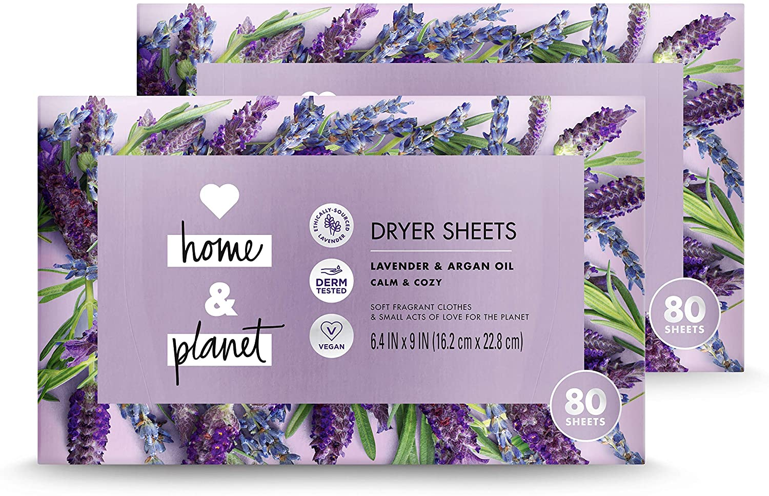 Love Home Panet Natural Dryer Sheets