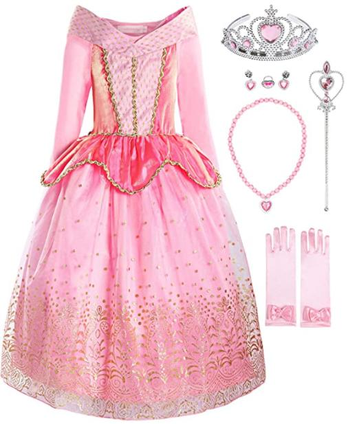 Relibeauty Princess Dress Up Costume Render
