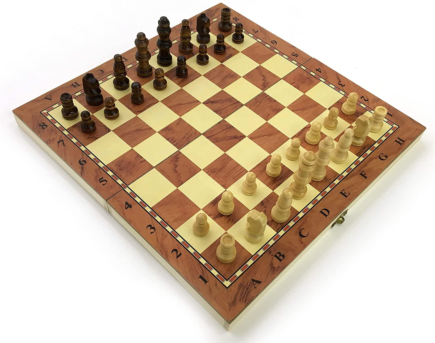 Stand Out wooden Chess Set