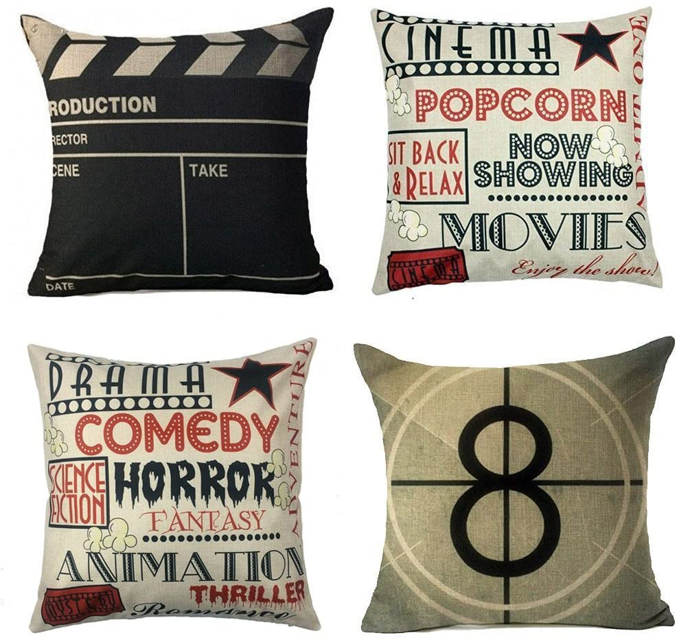 Yoenyy Movie Theater Pillow Cases Render
