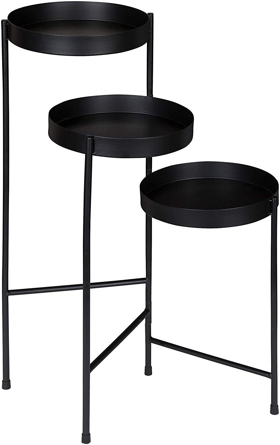 Kate And Laurel Finn Tri Level Metal Plant Stand Render