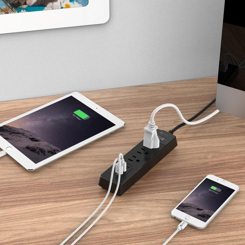 photo of This iClever power strip with 3 AC outlets and 3 USB ports is down to $12 image