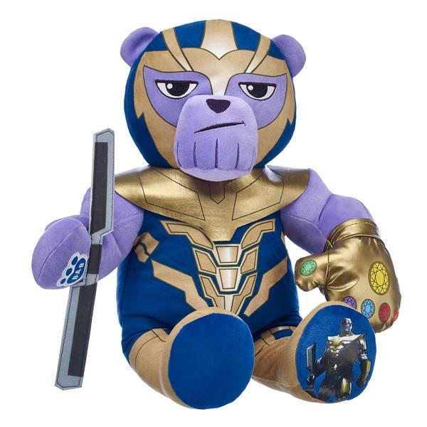 Thanos Build-a-Bear has some curious voice phrases