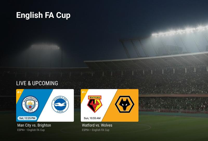 How to stream the FA Cup semifinals this weekend on ESPN+