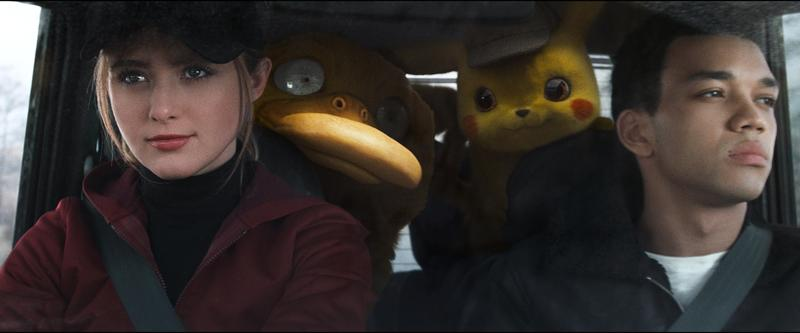 detective pikachu kathryn newton and justice smith