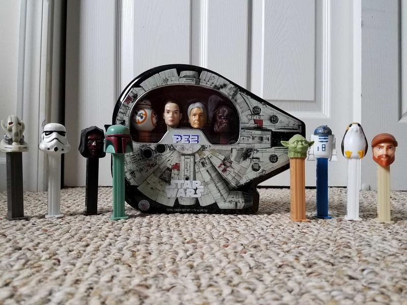 photo of Pop a PEZ for Luke with one of these Star Wars PEZ dispensers image