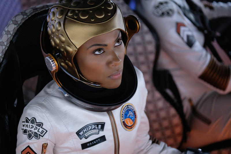 DeWanda Wise as Commander Alexa Brandt in The Twilight Zone;