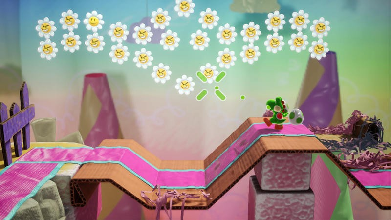 Yoshi's Crafted World Screenshot Nintendo Switch