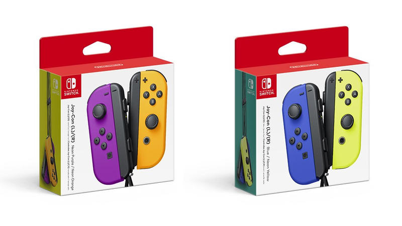 Nintendo unveils awesome new Joy-Con colors coming in October | TechnoBuffalo