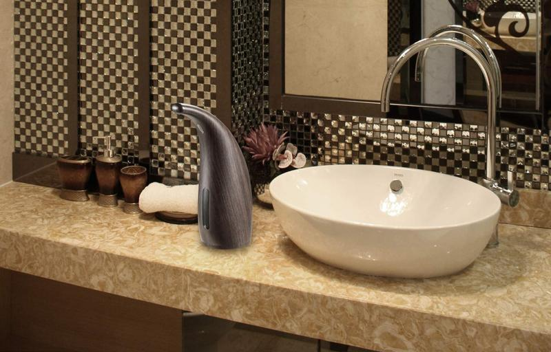 photo of Go hands-free with these automatic soap dispensers image