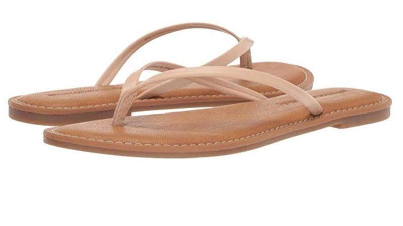 Amazon Essentials women's thong sandals
