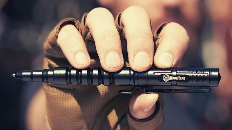 The Atomic Bear Tactical Pen lifestyle