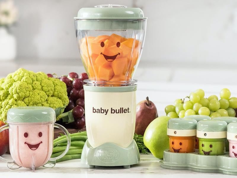 baby bullet for baby food lifestyle