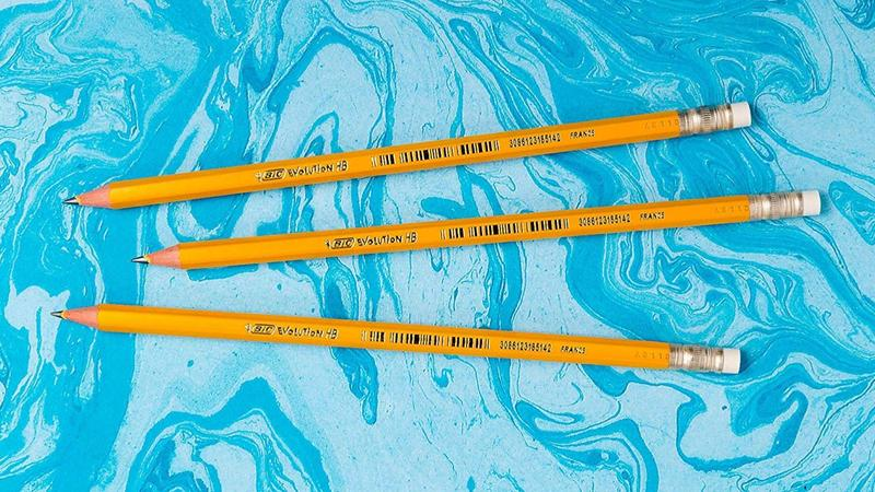 BIC Evolution pencils