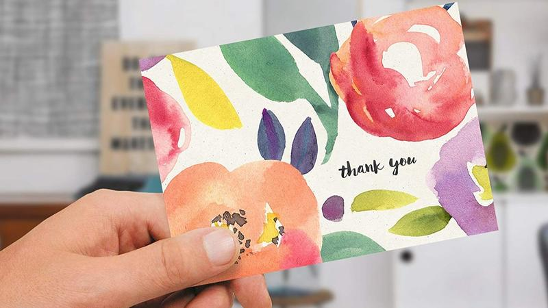 Fresh & Lucky thank you cards