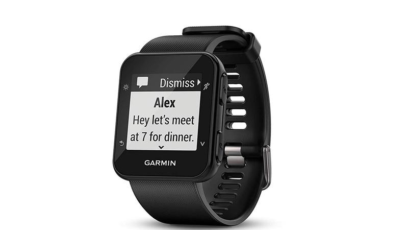 Garmin Forerunner watch lifestyle
